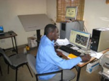 Ceicil Otieno (former GIS technician, Mpala)
